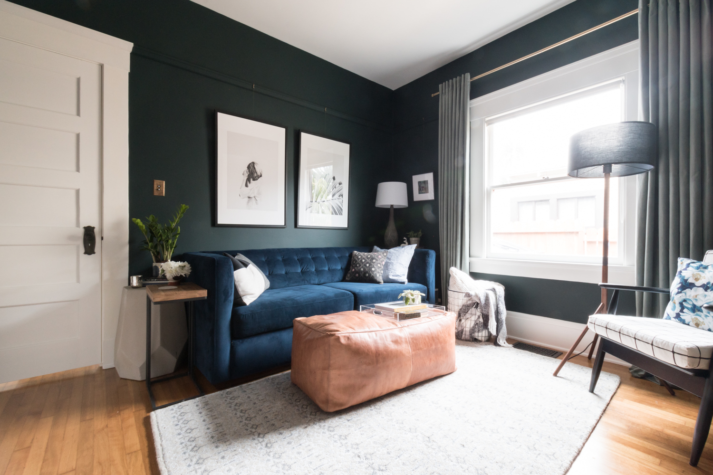 Moody Green Room