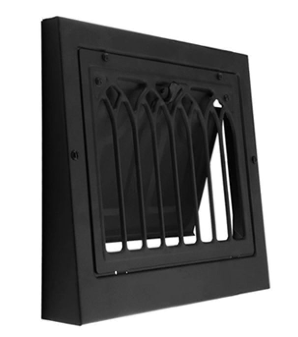 Wall air vent grate
