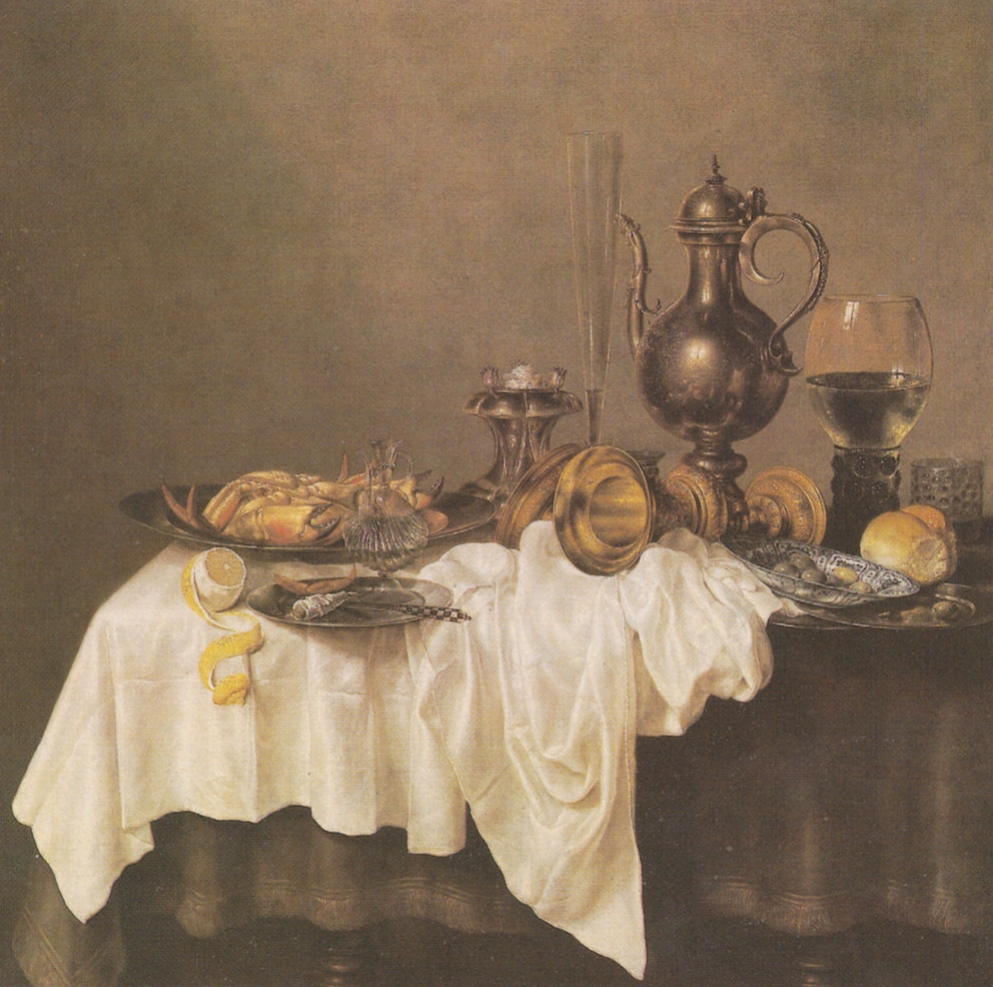 Dutch Still Lifes. Collection / Set of 29 Vintage Prints, Postcards -- 1960s-1980s