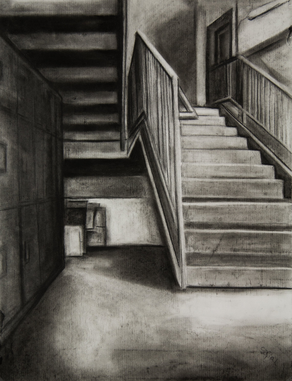 Eerie staircase