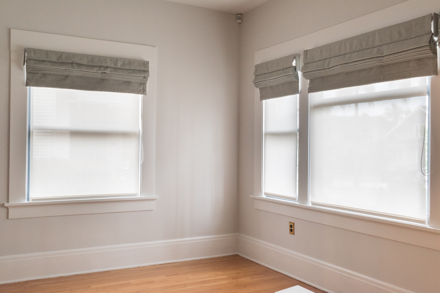 Roman shades and Solar Shades from SelectBlinds.com