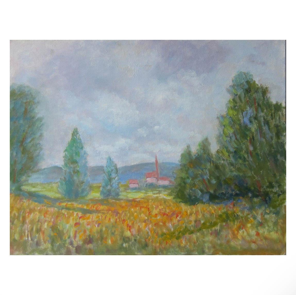 Copy of Copy of Copy of Copy of Copy of Copy of Vintage Landscape painting