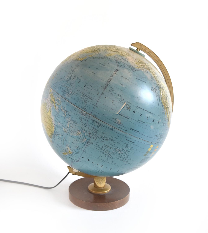 Copy of Copy of Copy of Copy of Copy of Copy of Vintage Illuminated Globe