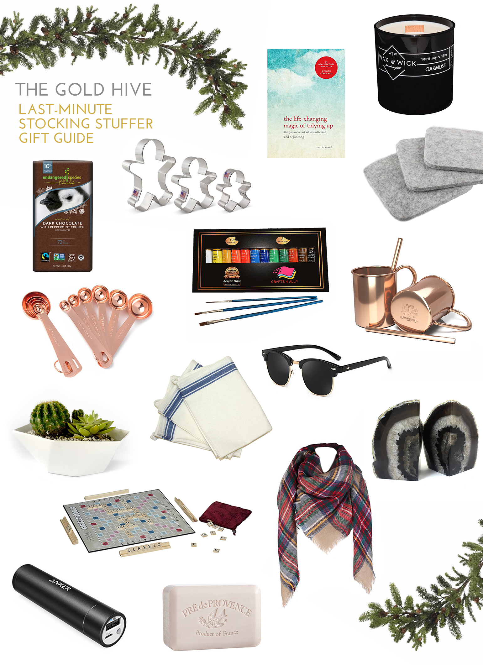the gold hive stocking stuffer gift guide