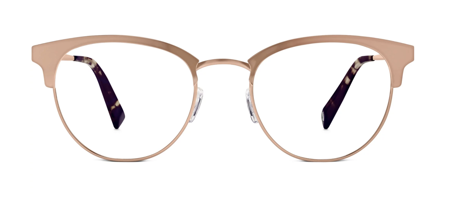 Warby Parker Rose Gold Blair Eye Glasses