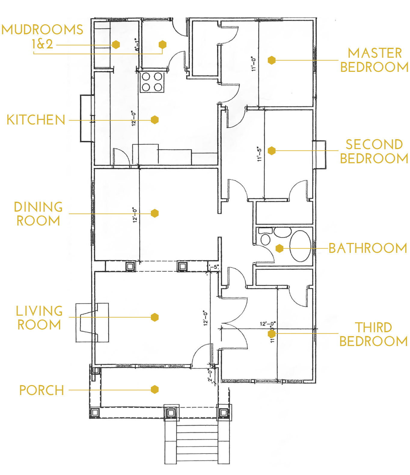 The Gold Hive Floor Plan