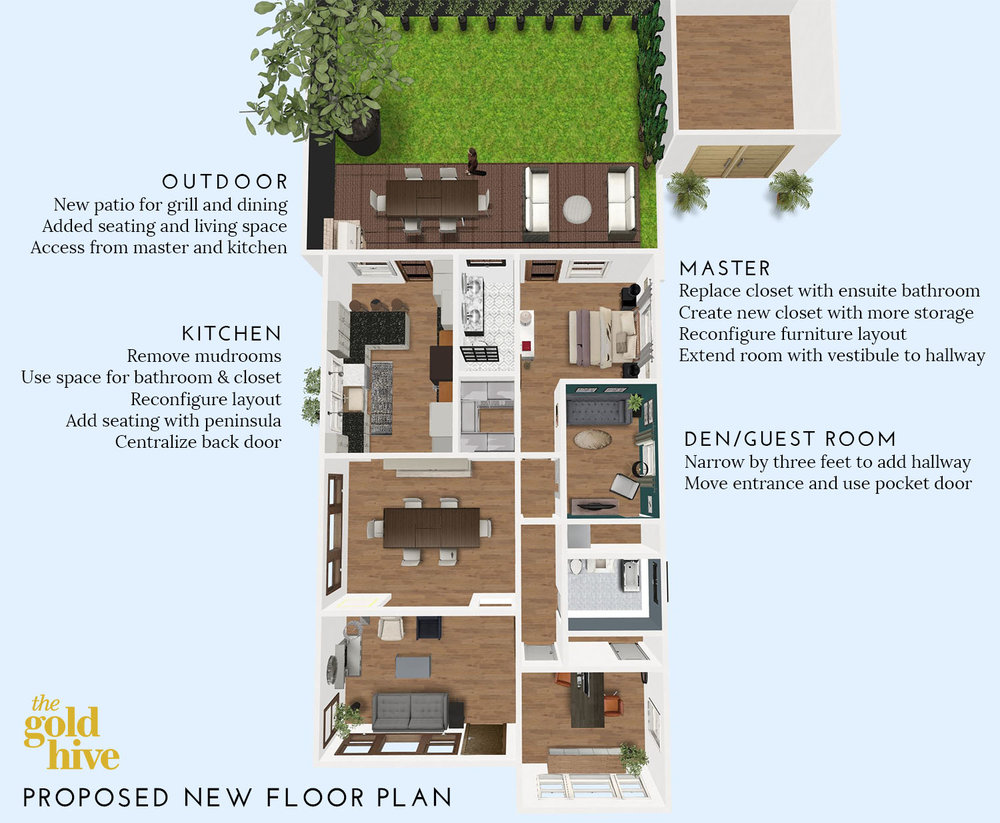 Changing The Floor Plan Of The House I Want Your Feedback The Gold Hive