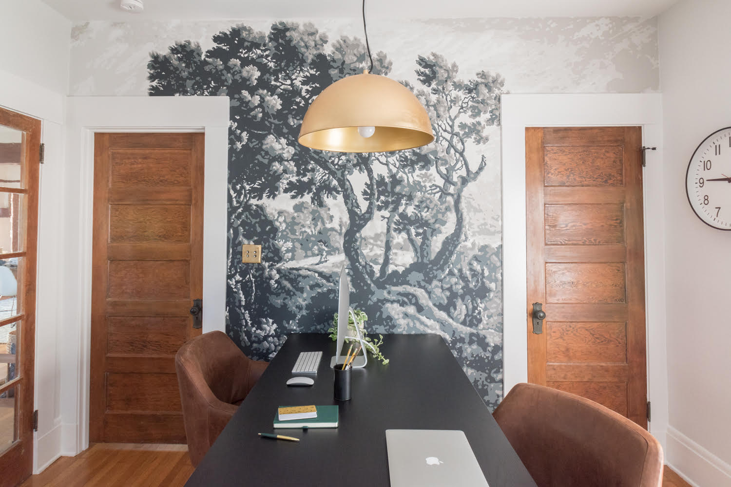The Gold Hive Home Office Murals