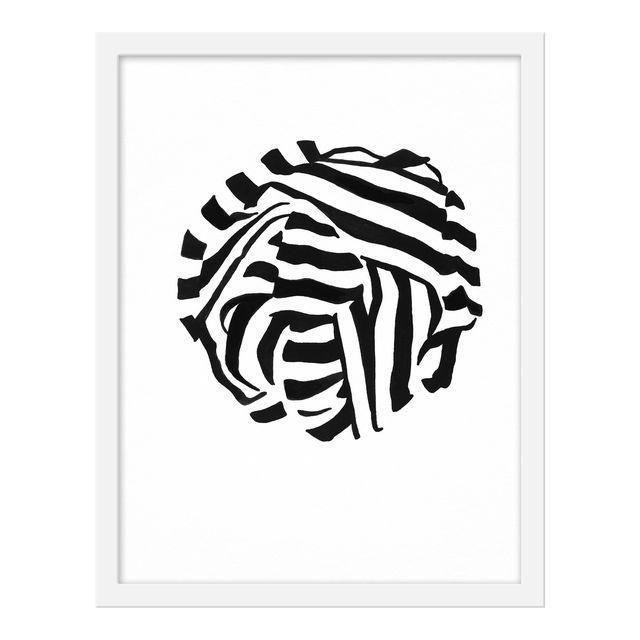 "Small ""White Knot 3"" Print by Angela Chrusciaki Blehm, 16"" X 20"""
