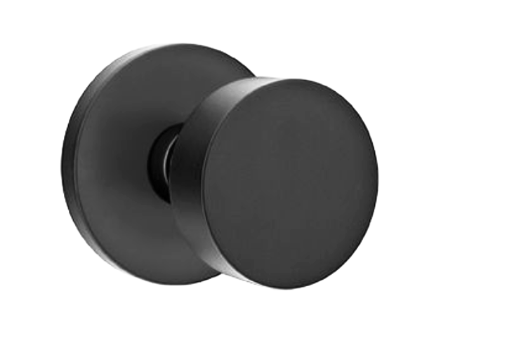 Emtek Mormont with Round Knob in Black