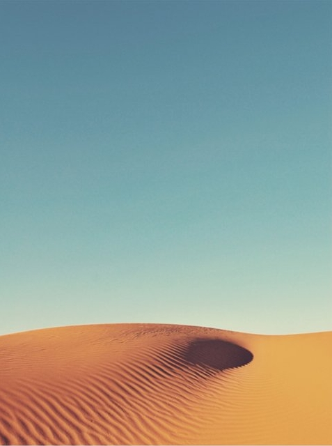 """DESERT WAVE"" - PHOTOGRAPHY LIMITED EDITION ART PRINT BY CATHERINE CULVENOR."