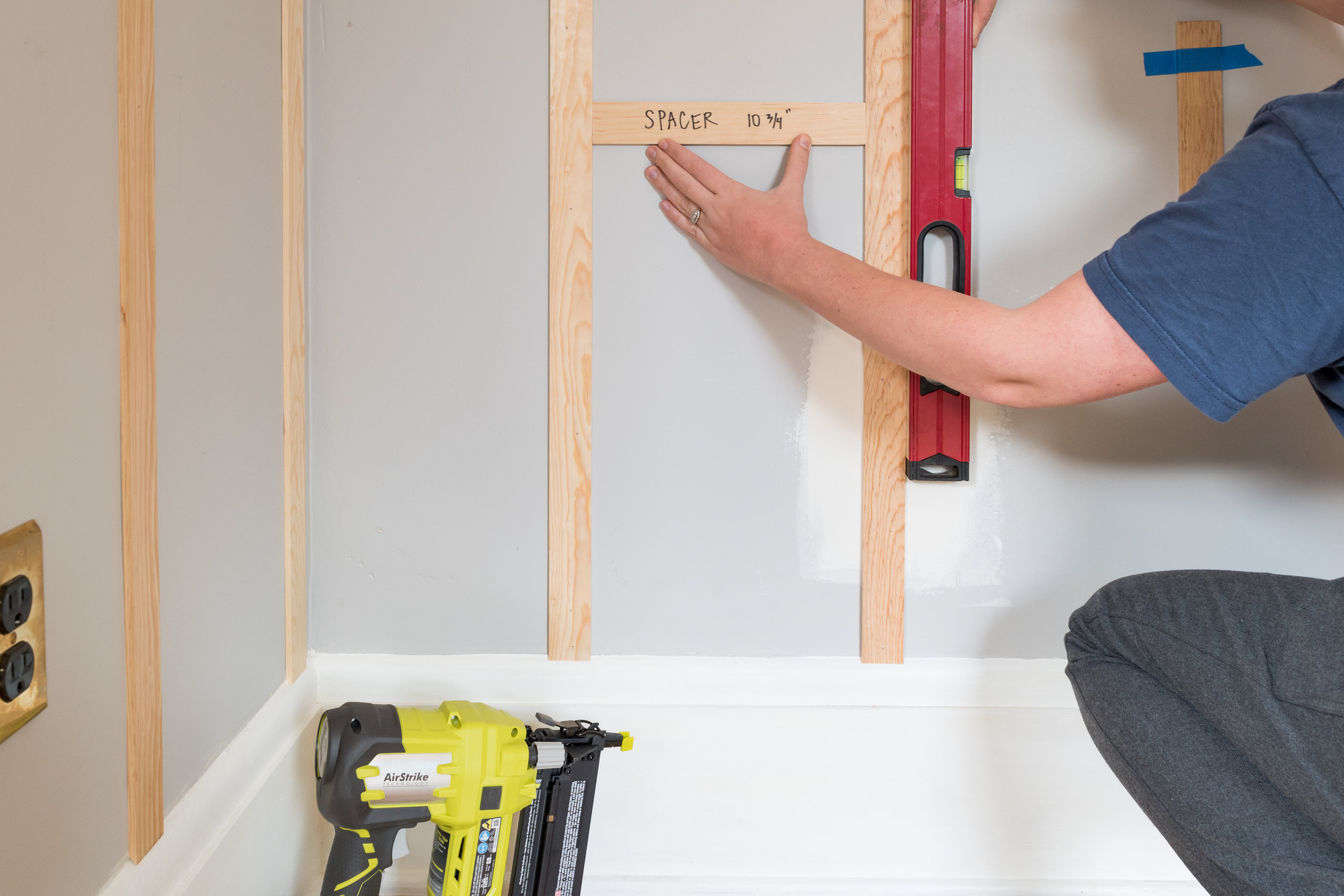 How to Install Board and Batten - The Gold Hive