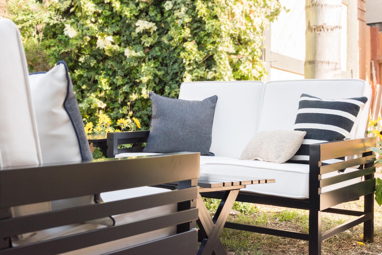 The Gold Hive Backyard and Stori Modern