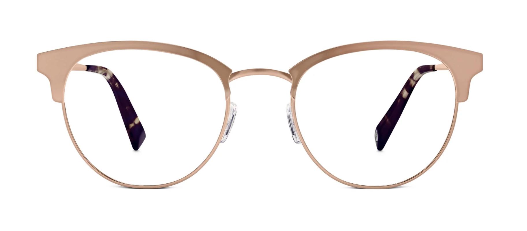 Copy of Warby Parker Rose Gold Frames