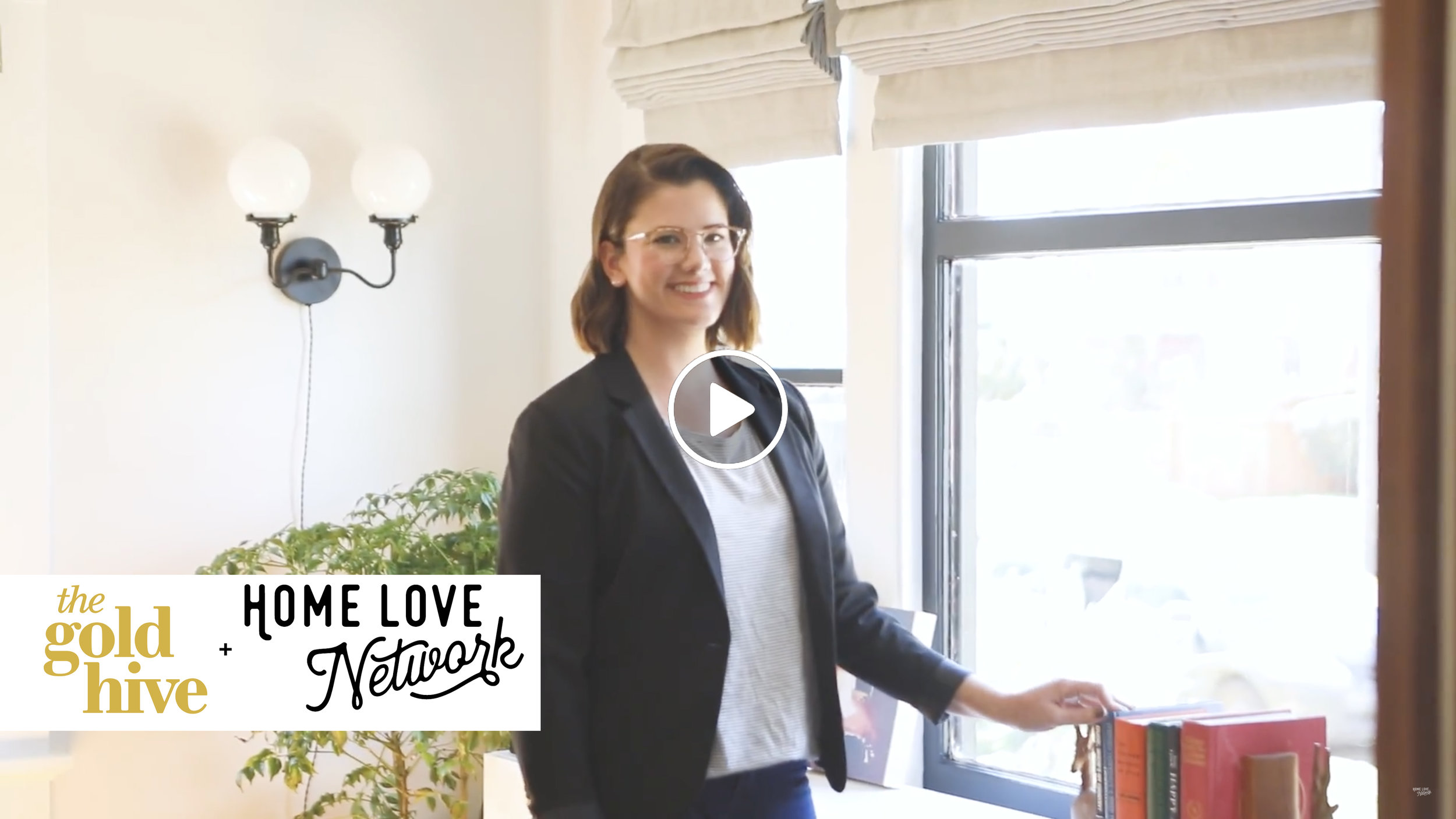 Ashley Goldman The Gold Hive blog One Room Challenge Home Love Network