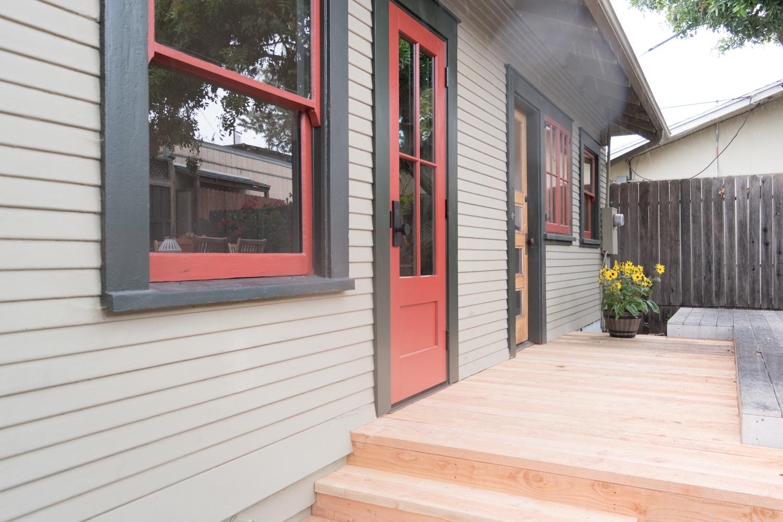 The Gold Hive One Room Challenge Pella Door and new deck