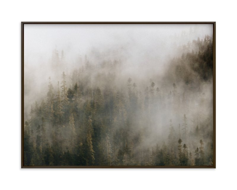 Pacific North Fog Minted Art