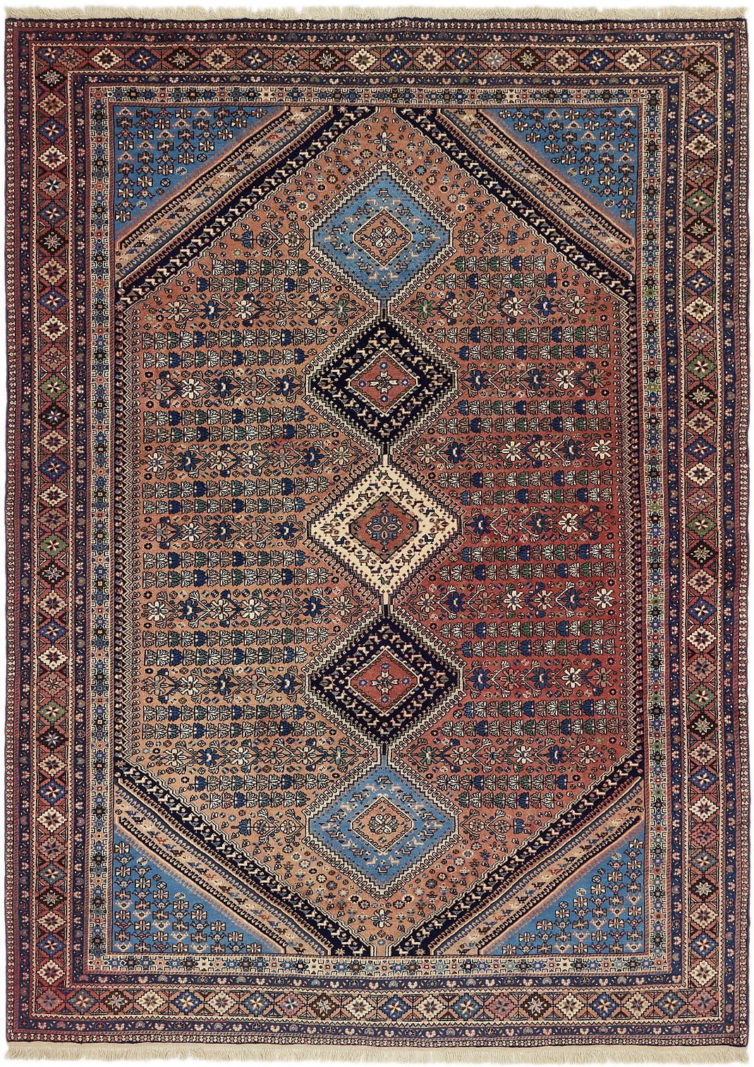 eSaleRugs 7' x 9' 7 Yalameh Persian Rug