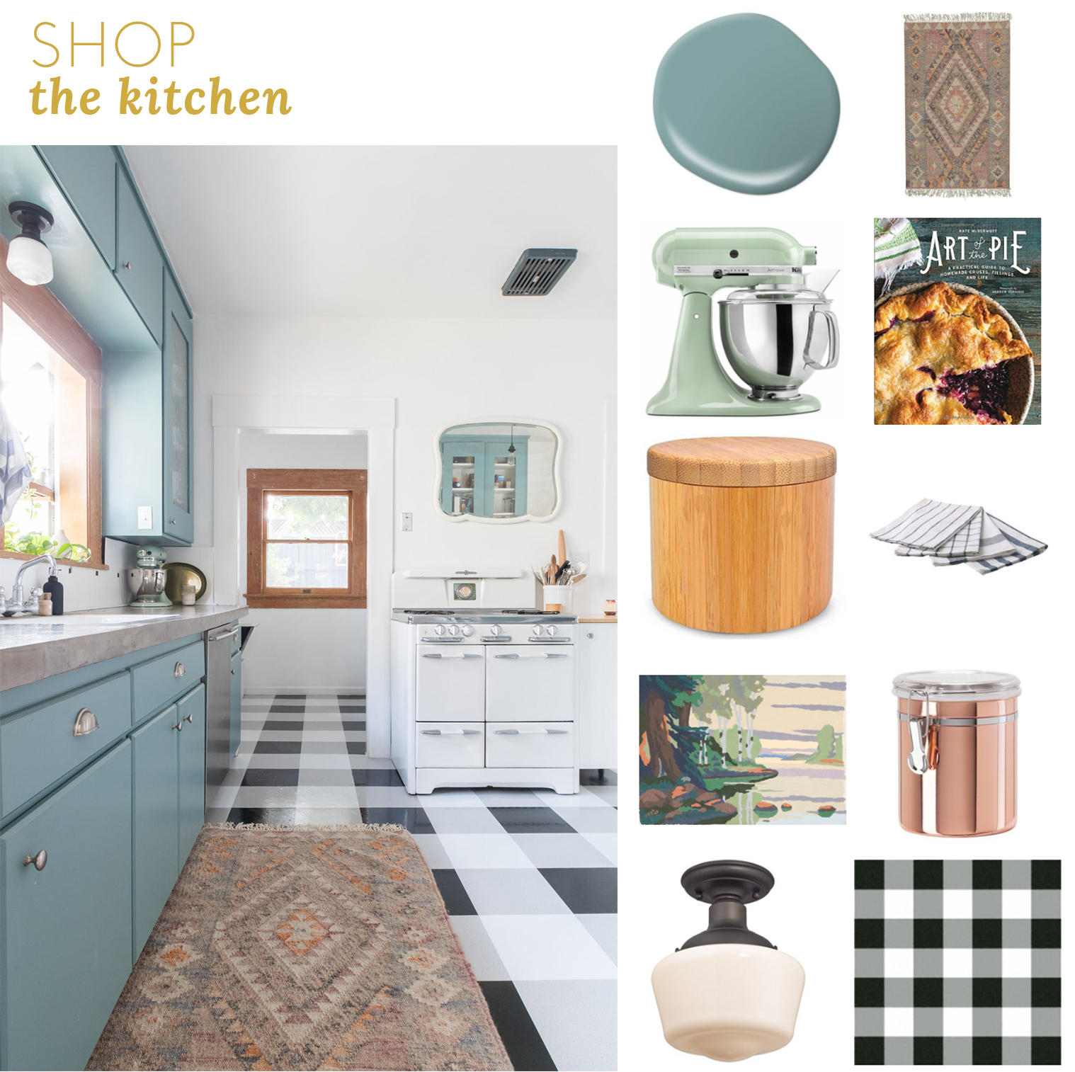 Shop the kitchen The Gold Hive.jpg