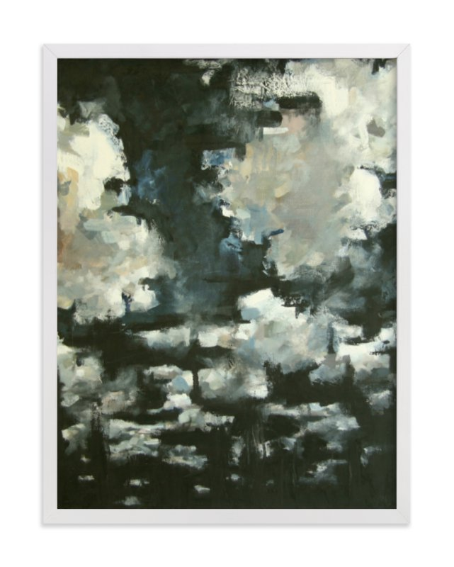 """""""NIGHT CLOUDS"""" - PAINTING LIMITED EDITION ART PRINT BY KELLY JOHNSTON"""