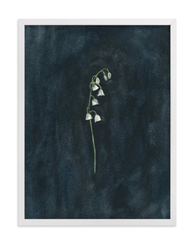 """""""REMEMBER: LILY OF THE VALLEY"""" - PAINTING LIMITED EDITION ART PRINT BY RENEE ANNE"""