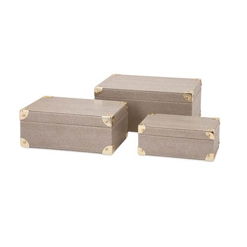 Silver Nesting Boxes