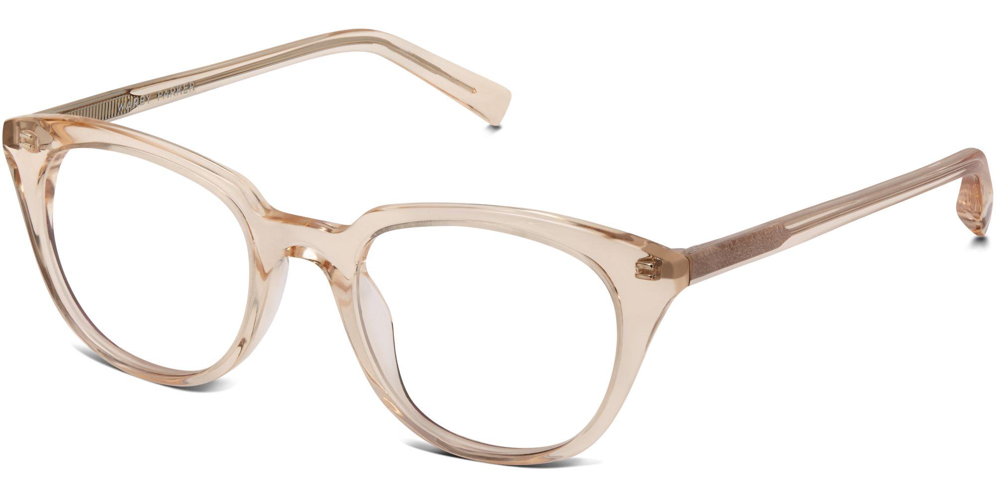 Warby Parker Glasses Pink Grapefruit Chelsea