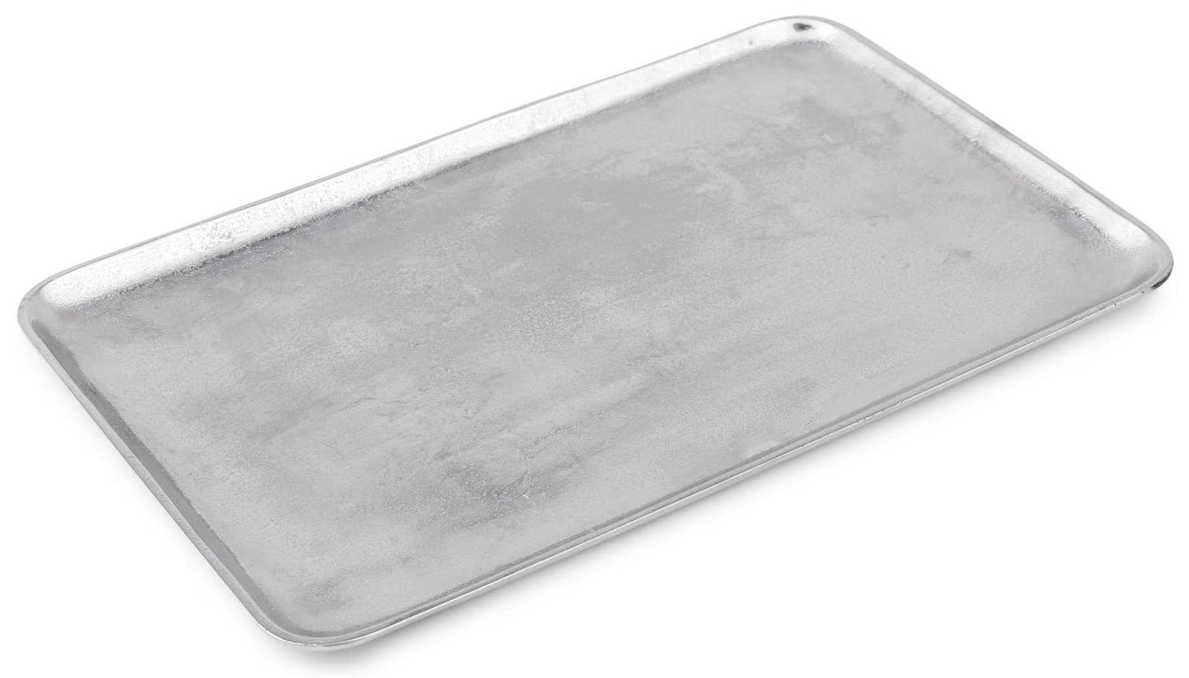 Article Sable Silver Rectangular Platter