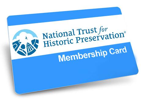 National Trust for Historic Preservation Membership