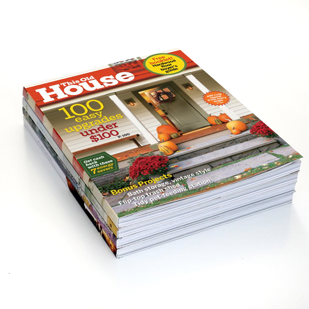 This Old House Magazine Subscription