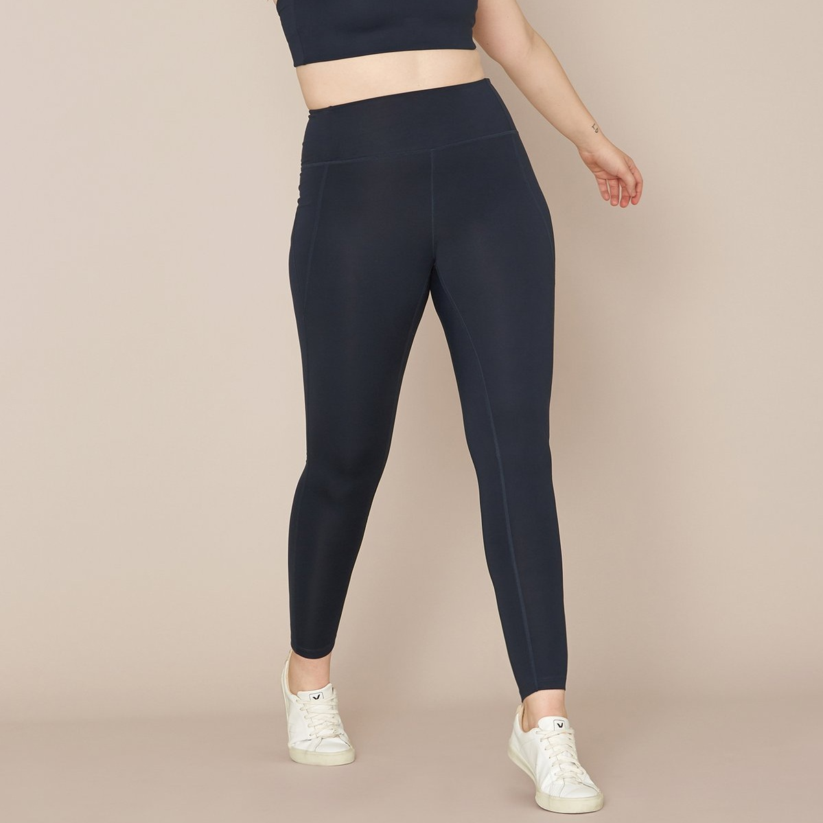Girlfriend Collective Compressive Mid Rise Leggings