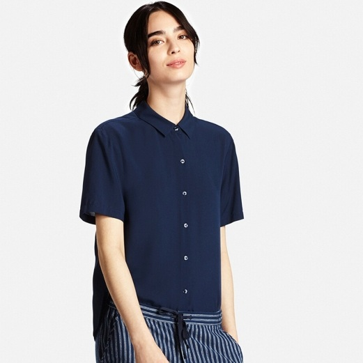 Uniqlo Navy Top