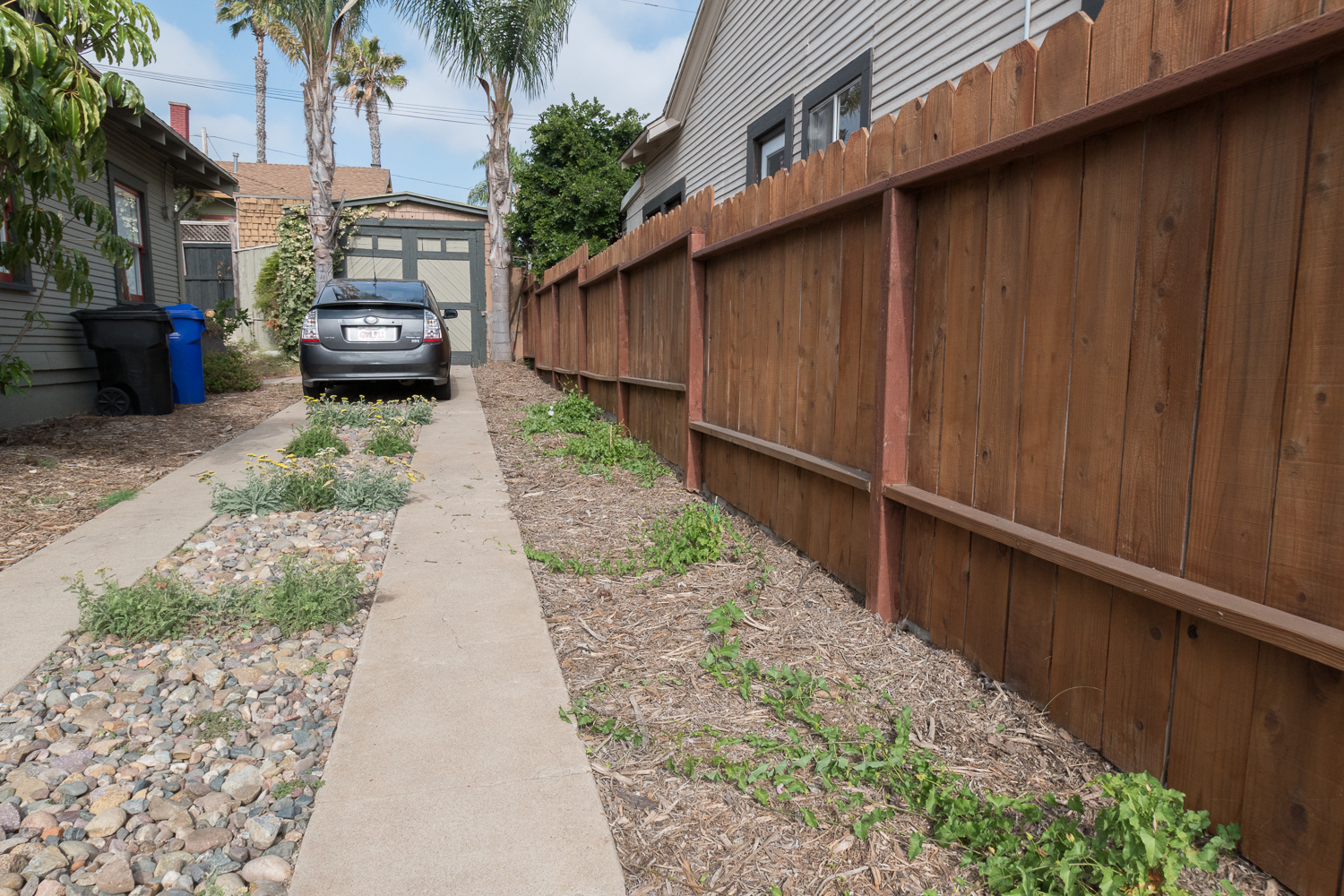 The Gold Hive How to Refresh a Fence - Powerwash-0005.jpg