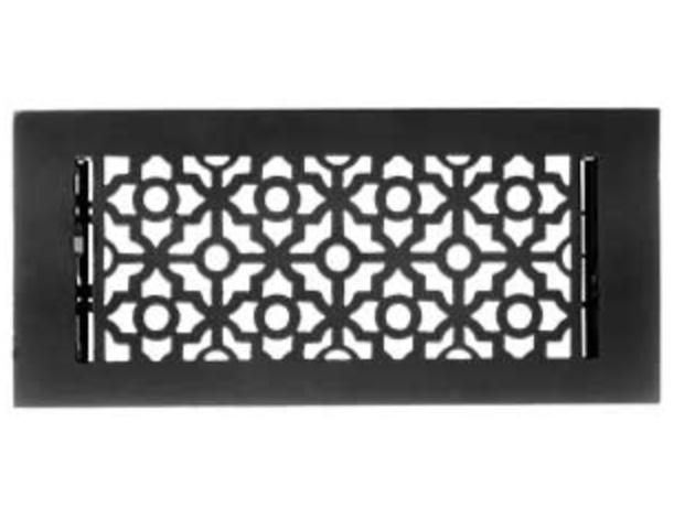 Cast Iron Victorian-Style Floor Register