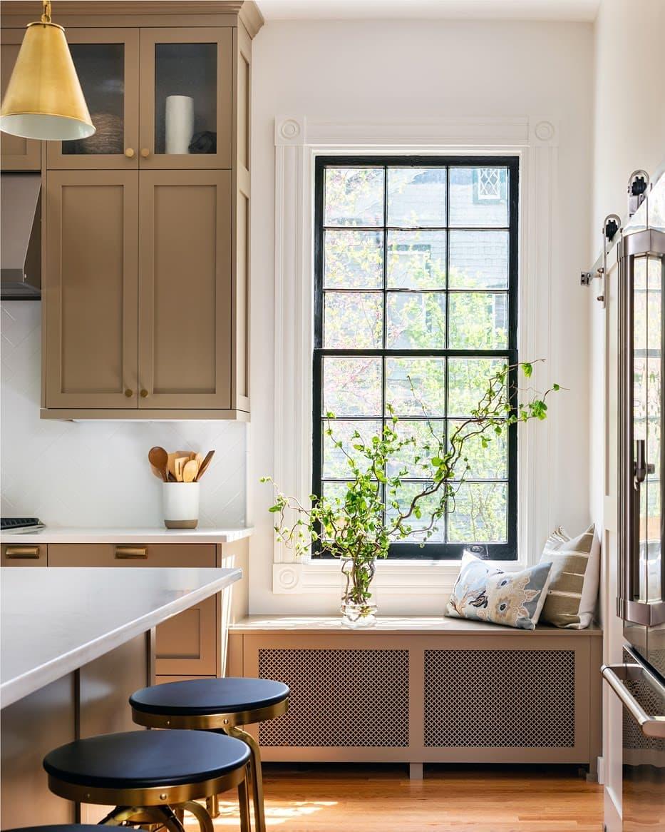 Ivey Design Ginter Park Kitchen
