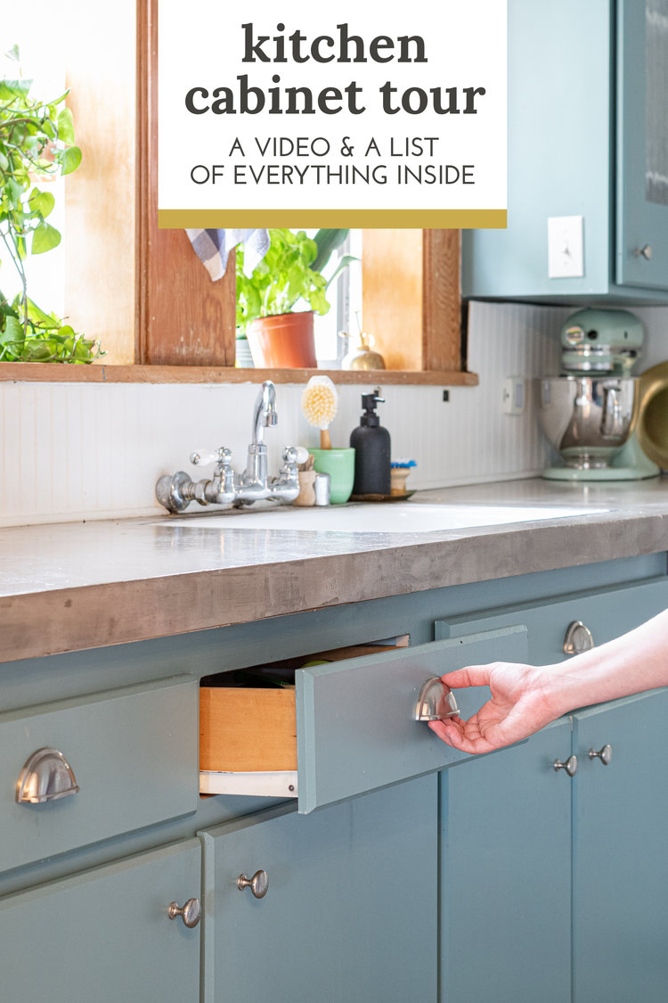 A Video Tour Of The Inside Of My Kitchen Cabinets And A Shoppable