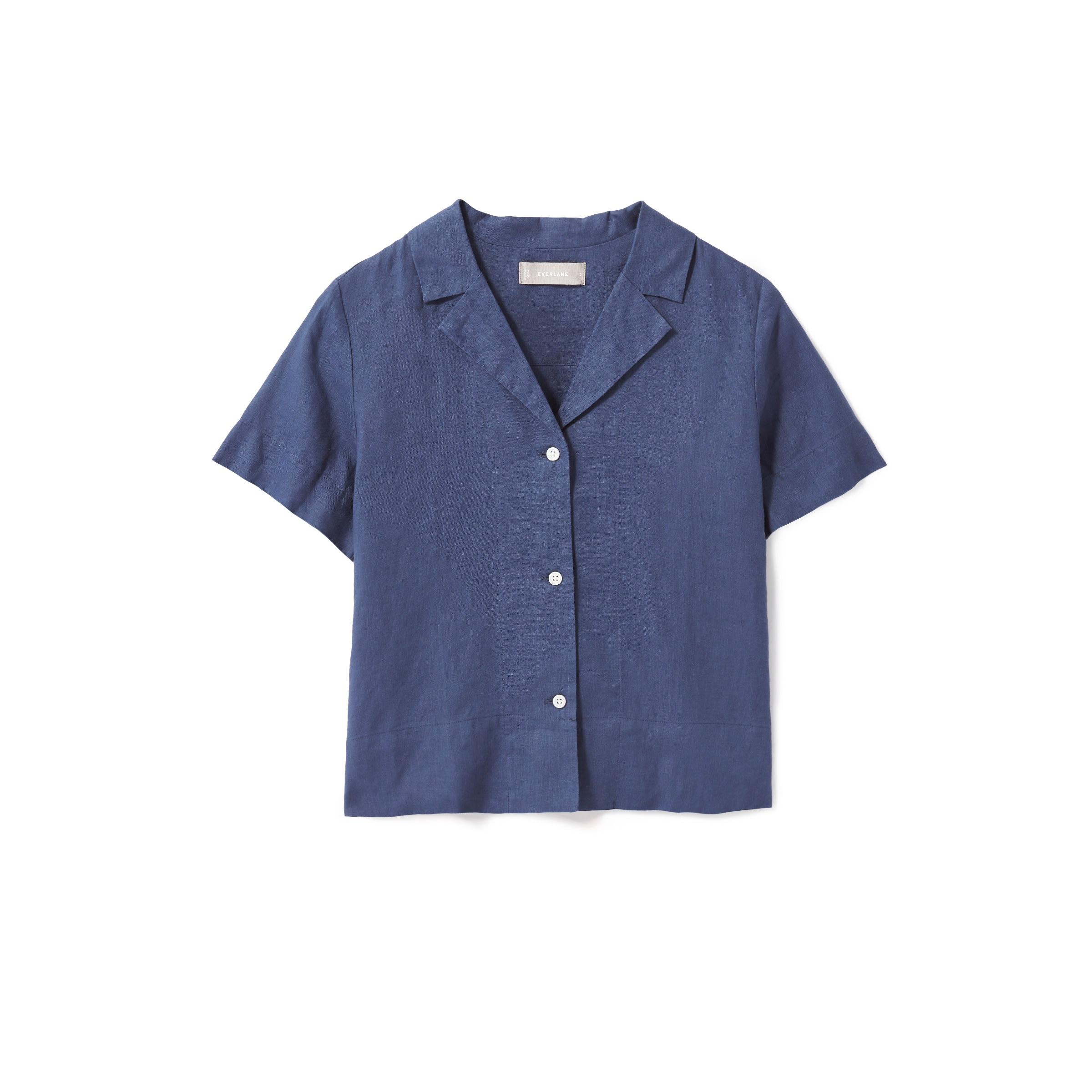 Everlane - The Linen Notch Short-Sleeve Shirt