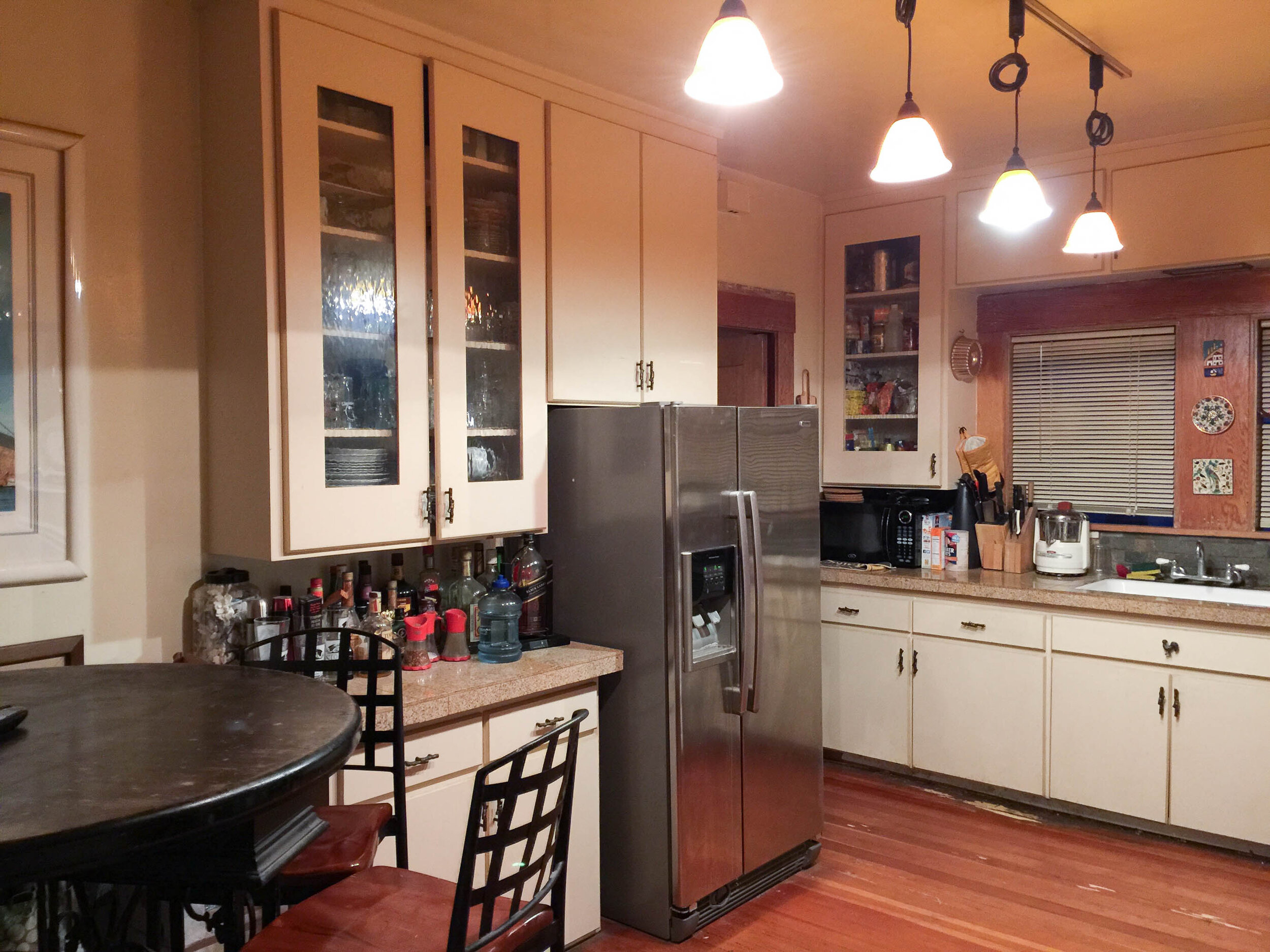 The Gold Hive $600 Kitchen Makeover Craftsman Bungalow Retro Style-8134.jpg