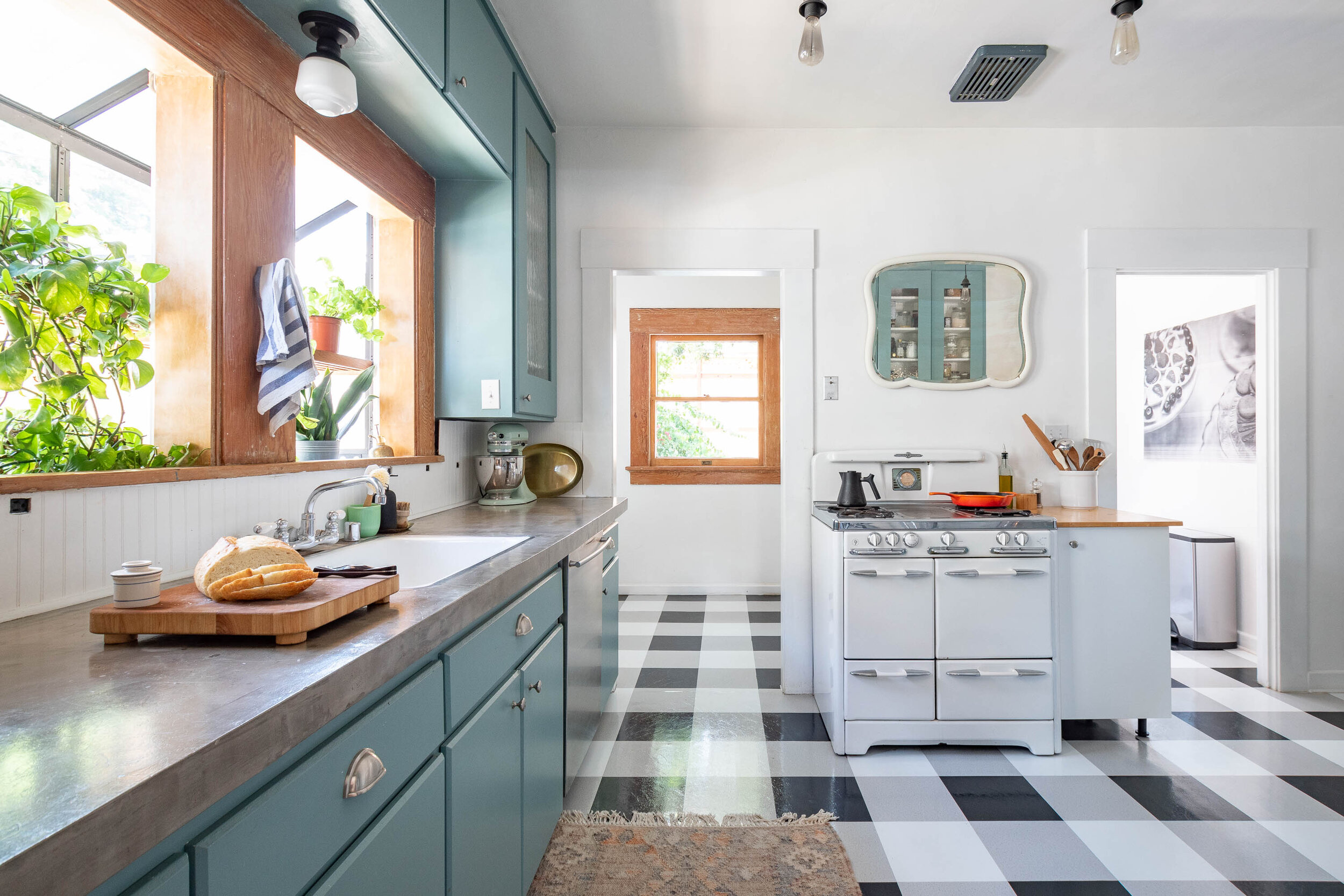 The Gold Hive $600 Kitchen Makeover Craftsman Bungalow Retro Style-2-2.jpg