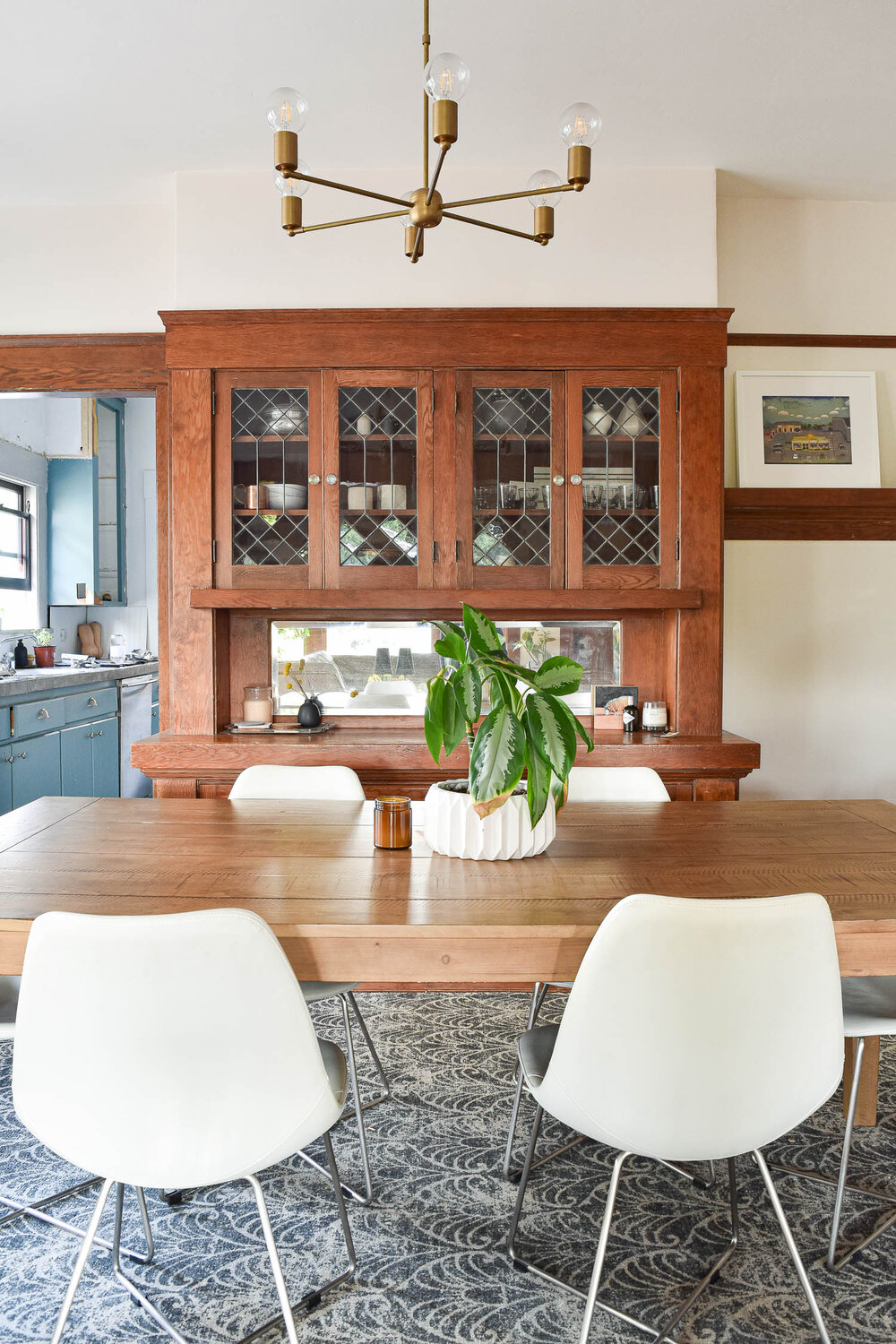 A Built In Buffet Refresh The Gold Hive, Dining Room Built Ins