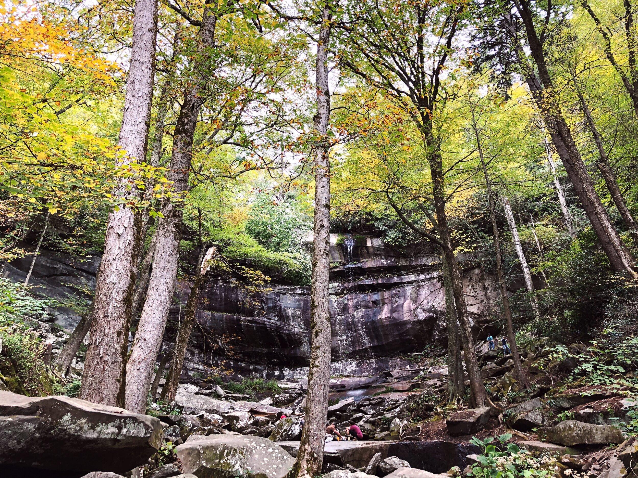 mount-leconte-rainbow falls trail-great-smoky-mountains-gatlinberg-tennessee0437.JPG