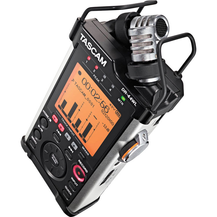 Tascam DR-44 Portable Handheld Recorder with Wi-Fi