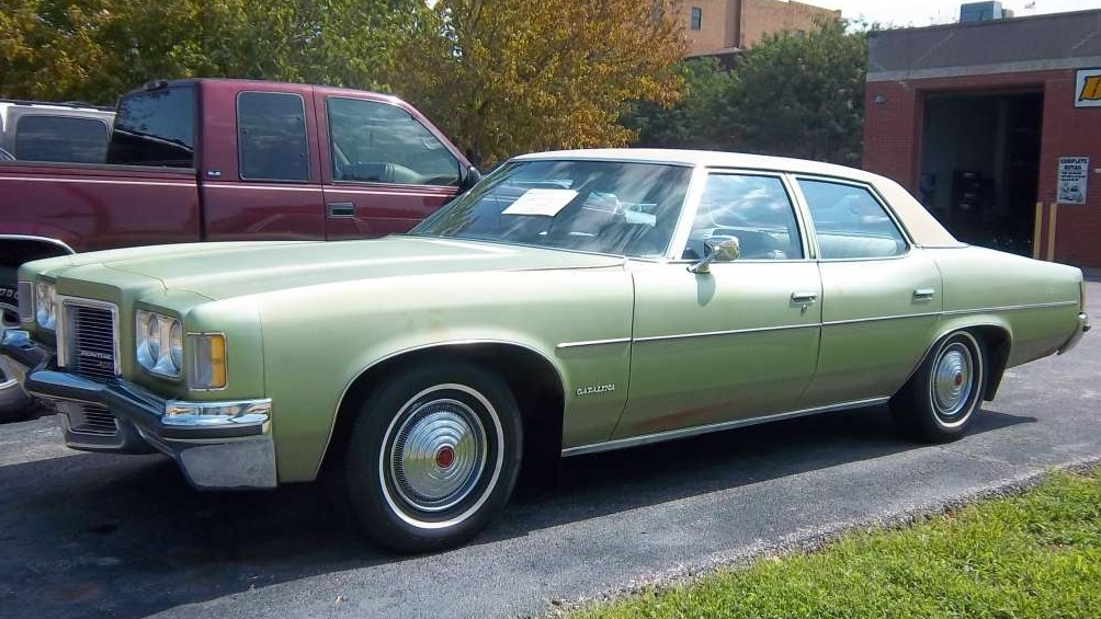 I drove a 1973 Pontiac Catalina in College. It could seat 7. -