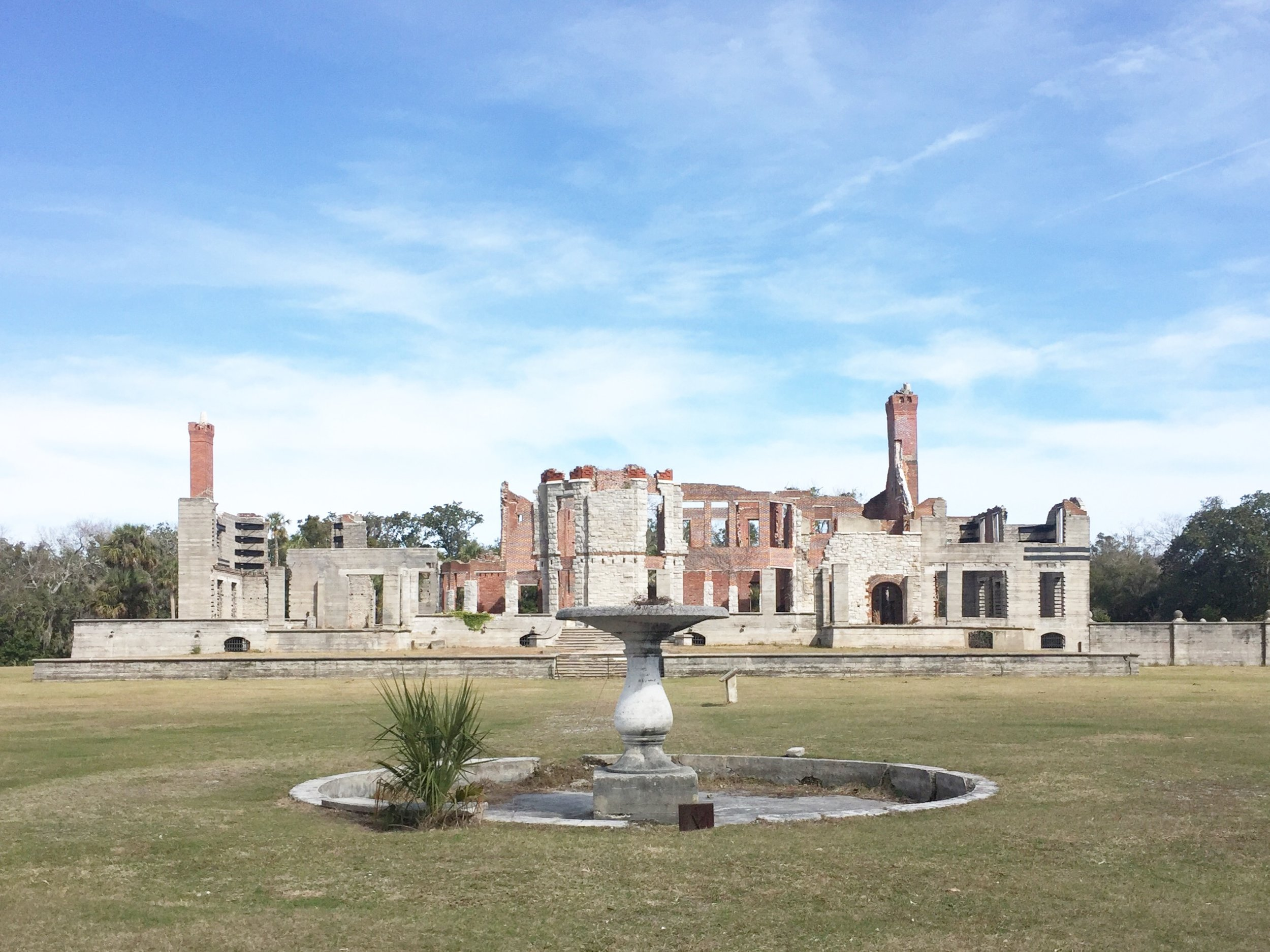 The Dungeness Ruins are a short 3-mile bike ride from the inn.