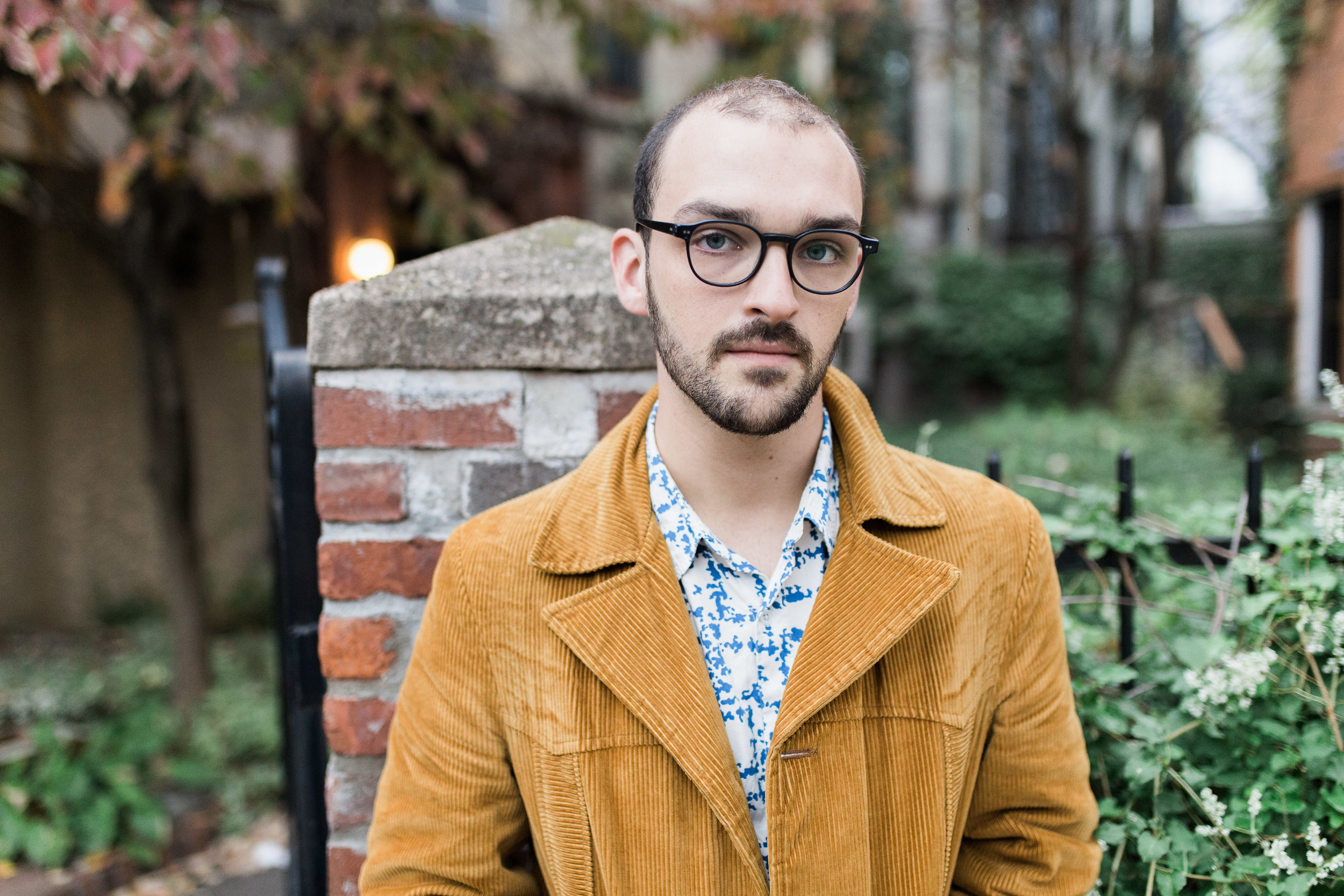 Sam Silbiger Actor Director Lifestyle Headshots Professional Brooklyn New York Fort Greene Hipster hip