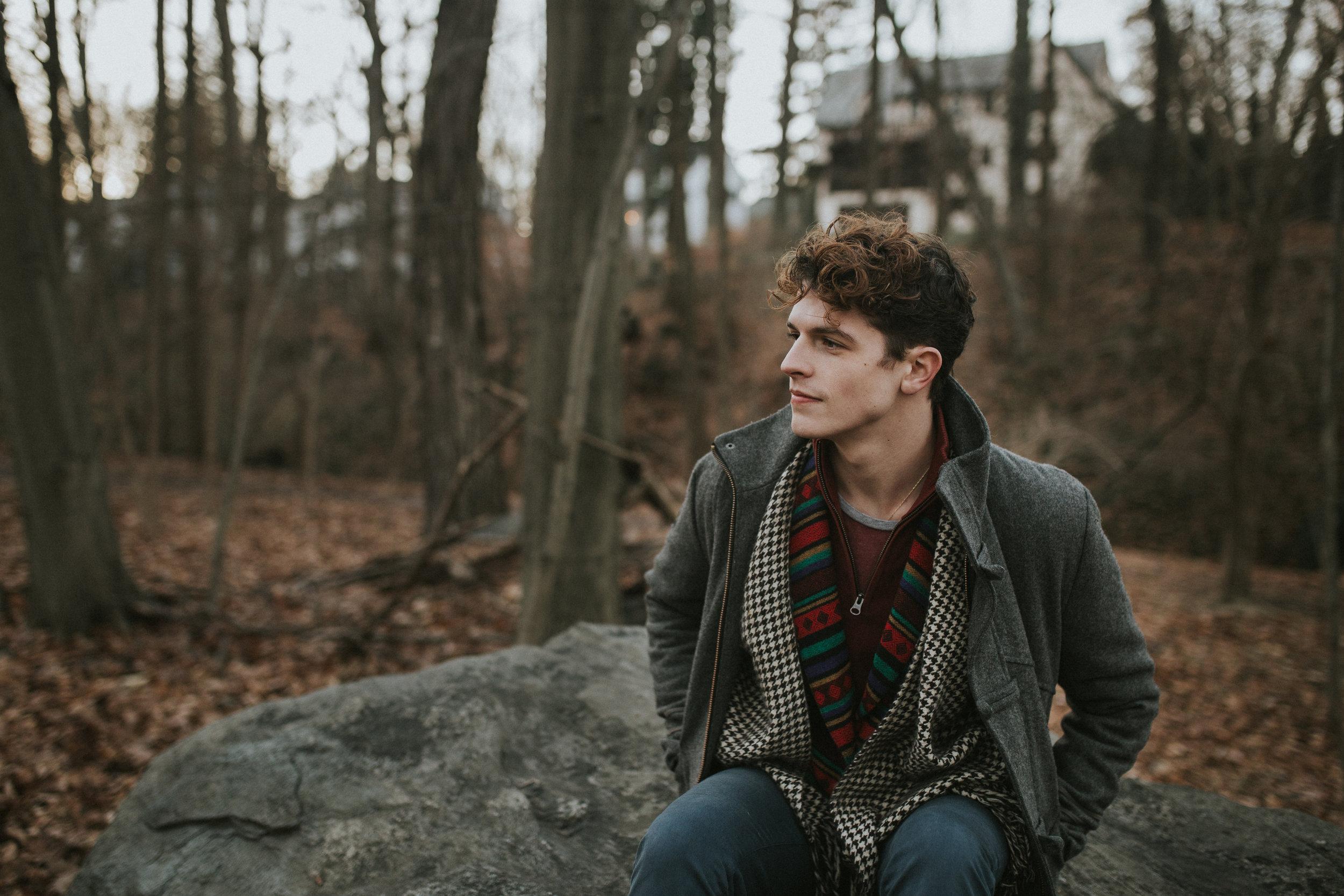 Brady Richards tumblr aesthetic gay model fall fashion urban outfitters New York lifestyle lookbook photographer free people woods photoshoot ukelele hipster male model-1.jpg