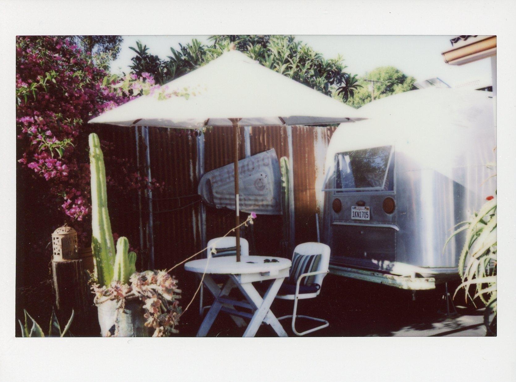 Santa Barbara Polaroid Airstream Rachel Hanon Photography