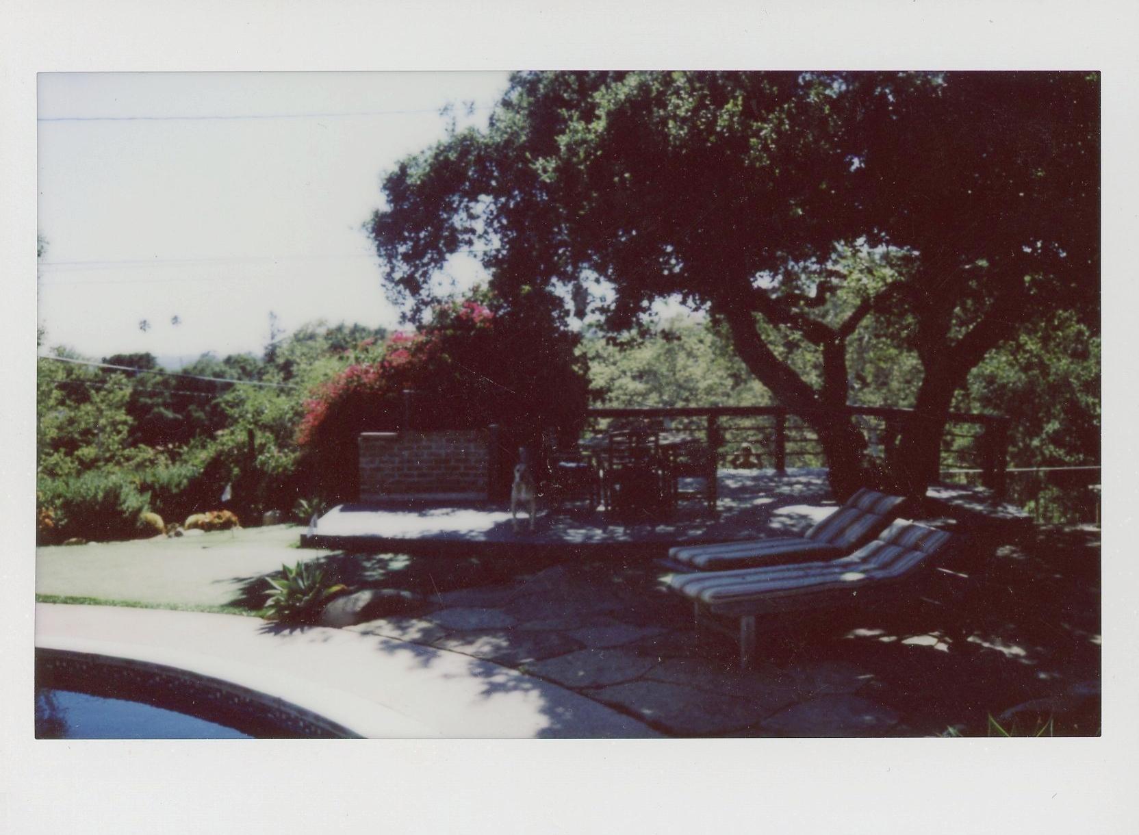 Santa Barbara CA Polaroid Rachel Hanon Photography