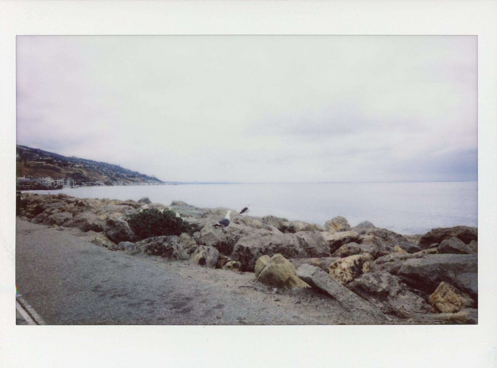 Malibu polaroid Rachel Hanon Photography 1