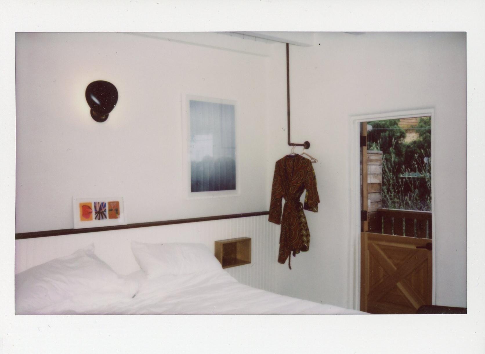 Malibu polaroid Native Hotel Rachel Hanon Photography